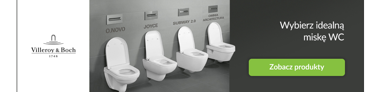 Villeroy & Boch miski WC promocja