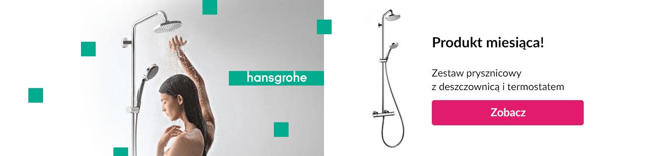 Tani zestaw prysznicowy Hansgrohe