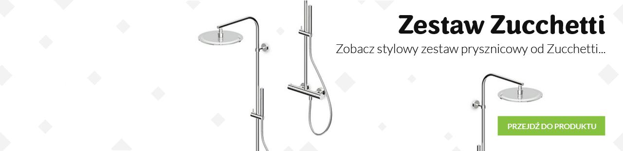 Włoski ekskluzywny zestaw prysznicowy