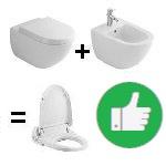 Deski WC myjące