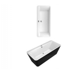 Villeroy & Boch Squaro Edge 12 wanna z hydro Combipool Entry White - 581547_O1