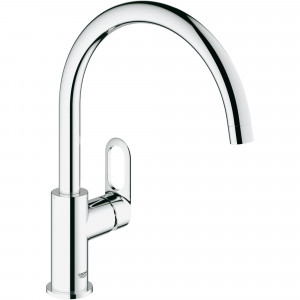Grohe BauLoop bateria kuchenna, zlewozmywakowa chrom