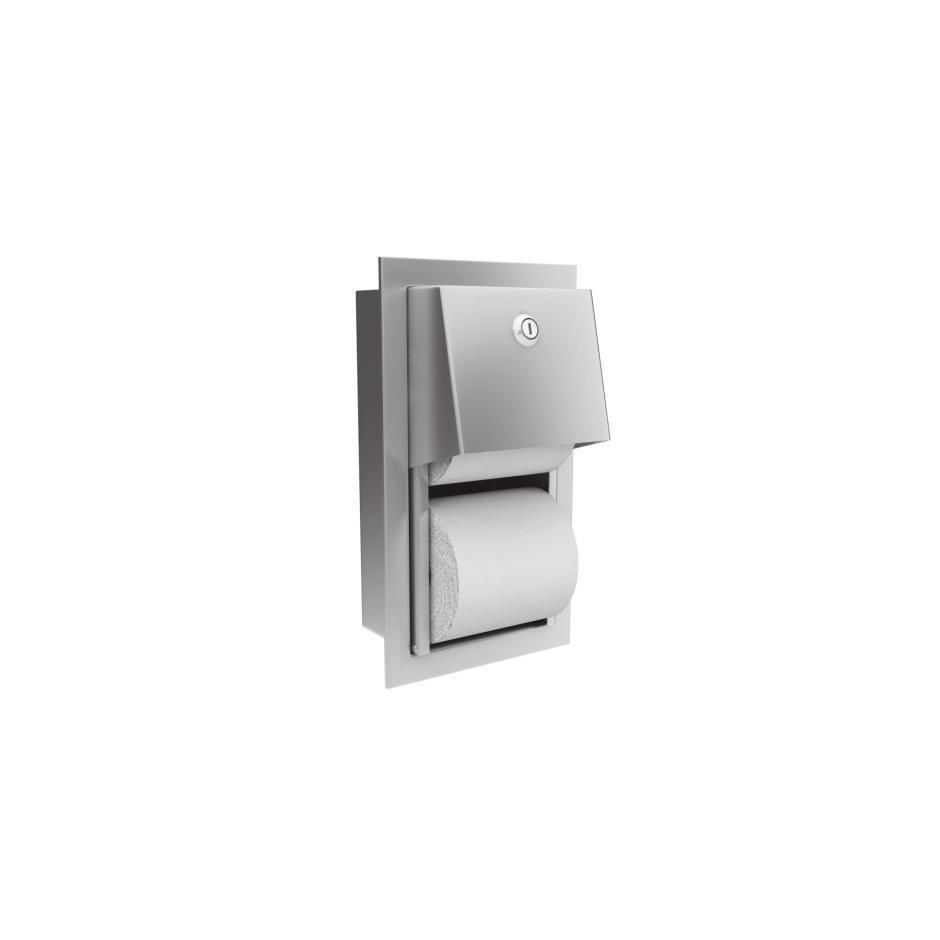 Merida Pojemnik na papier toaletowy stal matowa - 451804_O1