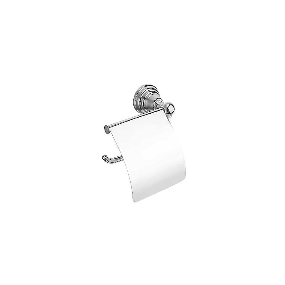Tres Retro uchwyt na papier toaletowy chrom - 3850_O1