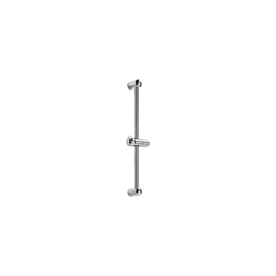 Tres drążek prysznicowy niklowany Luxus O25mm 578mm chrom - 4764_O1