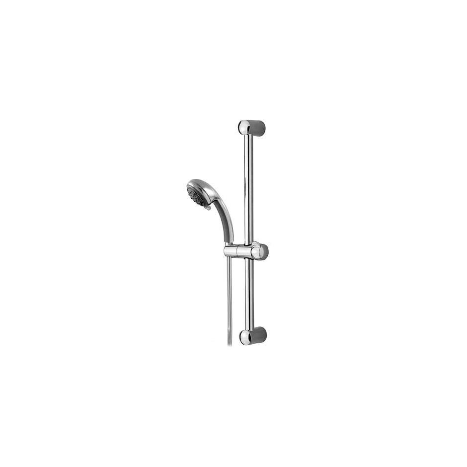 Tres zestaw prysznicowy natynkowy na drążku długość 578mm chrom - 4769_O1
