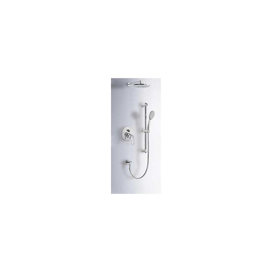 Tres K-Tres kompletny zestaw prysznicowy podtynkowy deszczownica o225mm chrom - 4960_O1