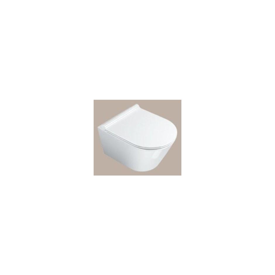 Catalano Zero Miska WC wisząca 50x35 +śruby mocujące (5KFST00) biała - 460203_O2