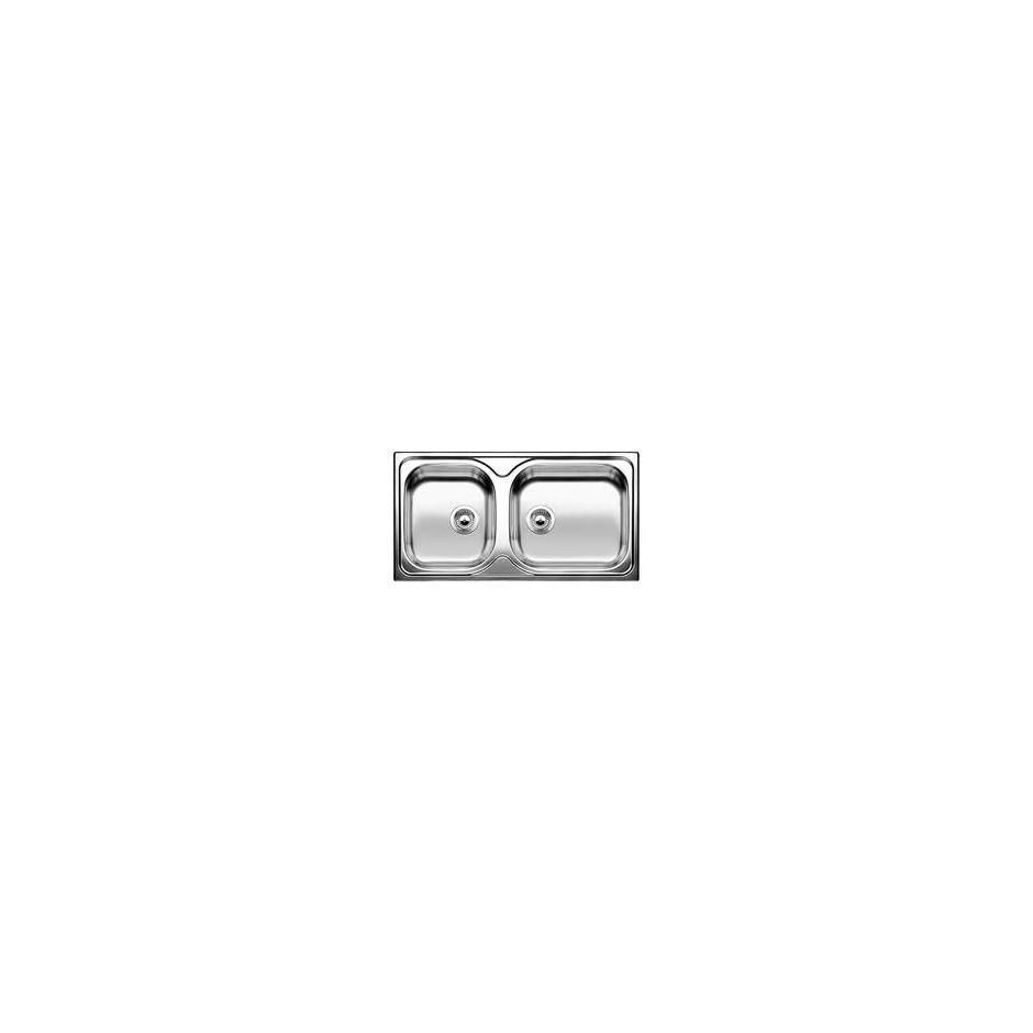 Blanco zlewozmywak stalowy TIPO XL 9 stal matowa - 609446_O1
