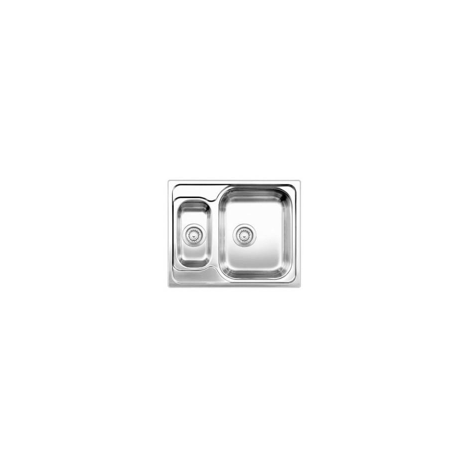 Blanco zlewozmywak stalowy TIPO 6 stal matowa - 609454_O1