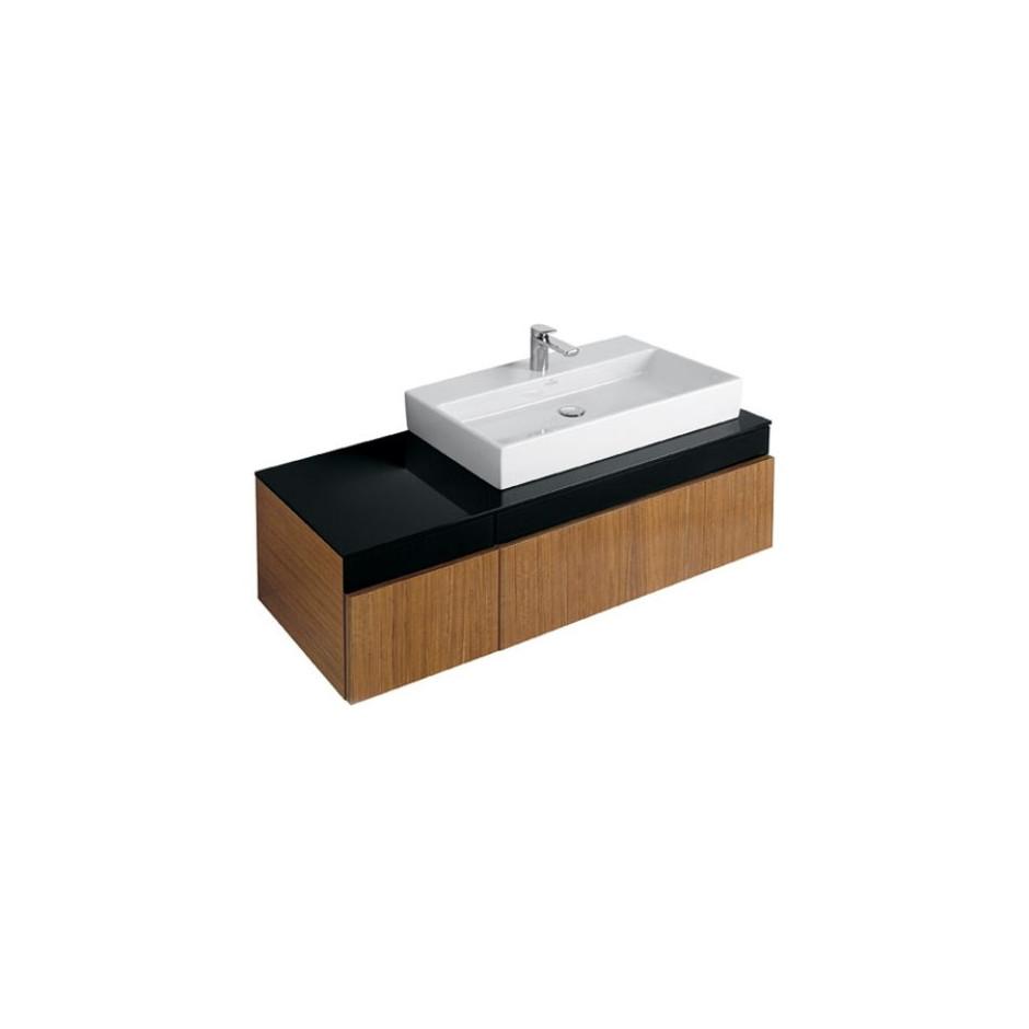 Villeroy & Boch Memento umywalka 800 x 470 mm, szlifowany spód, do montazu z meblami Memento Weiss Alpin - 9966_O2