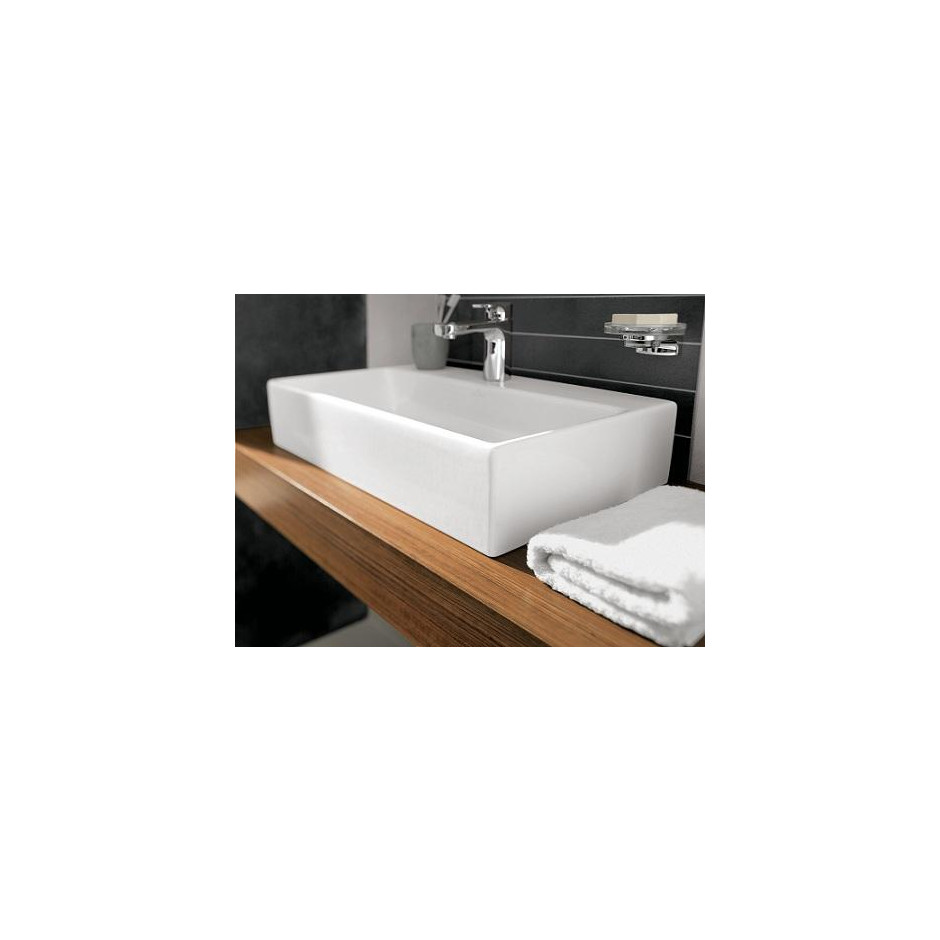 Villeroy & Boch Memento Umywalka nablatowa 50x42 Weiss Alpin Ceramicplus - 9992_A3