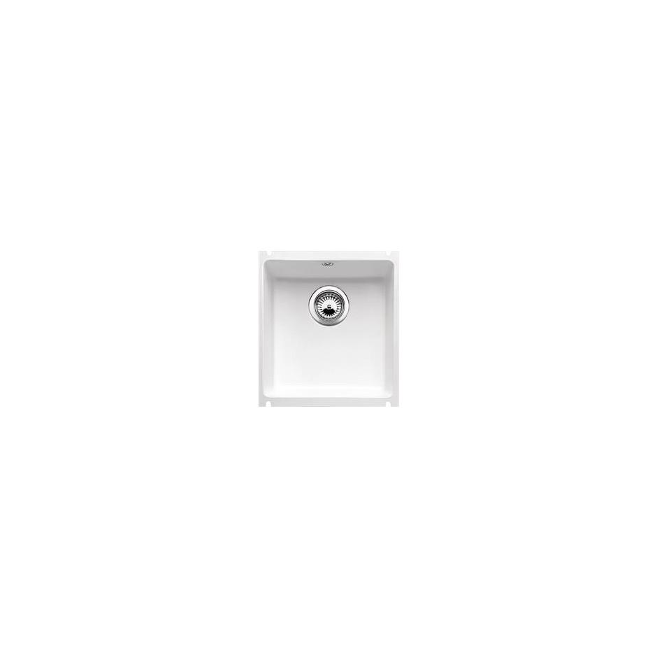 Blanco zlewozmywak ceramiczny SUBLINE 375-U biały połysk bez korka automatycznego - 684305_O1