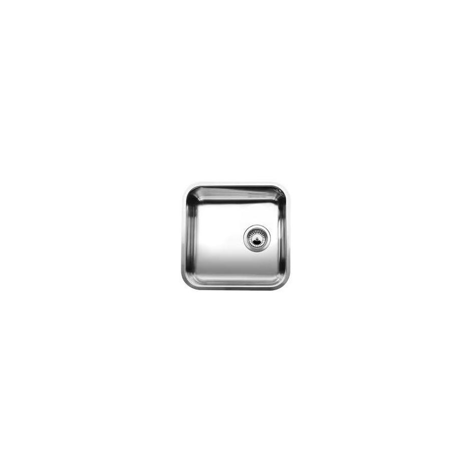 Blanco zlewozmywak stalowy SUPRA 400-U z korkiem automatycznym - 468477_O1