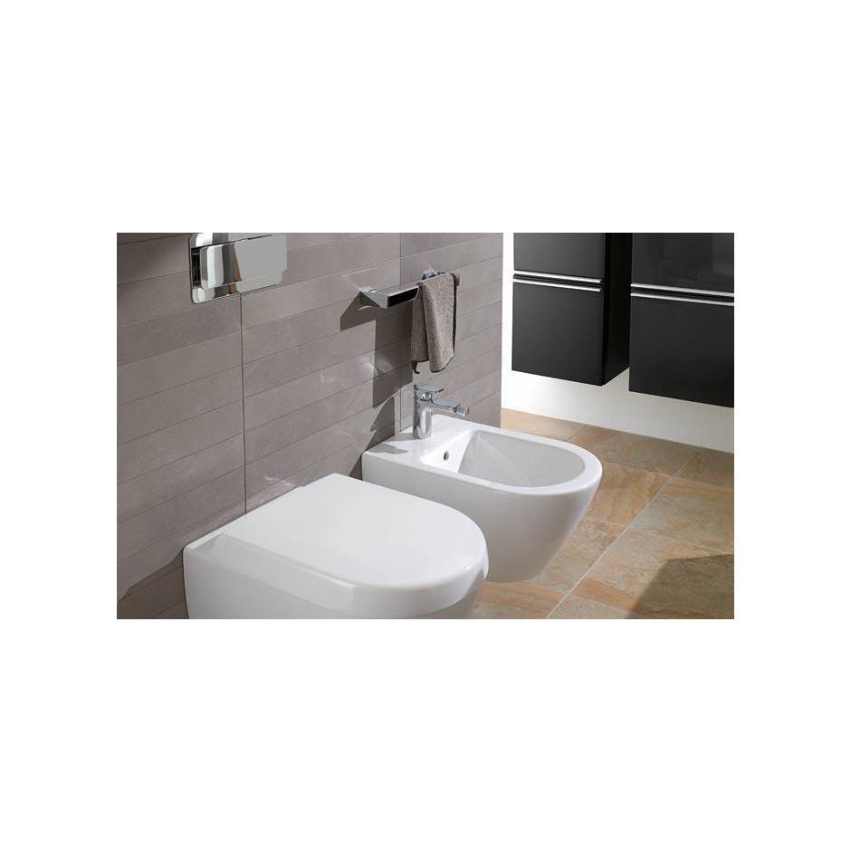 Villeroy & Boch Subway 2.0 miska WC wisząca bezrantowa, DirectFlush , 375 x 565 mm, Star White Ceramicplus - 466759_A2