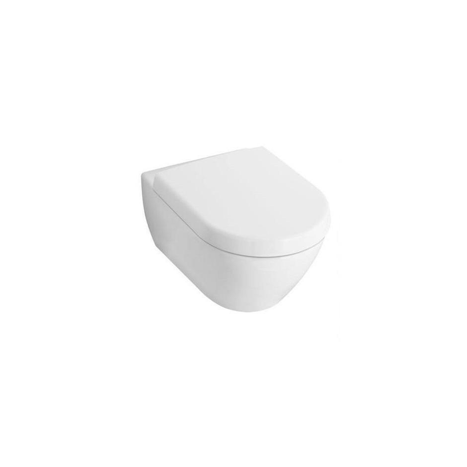 Villeroy & Boch Subway 2.0 miska WC wisząca bezrantowa, DirectFlush , 375 x 565 mm, Star White Ceramicplus - 466759_O1