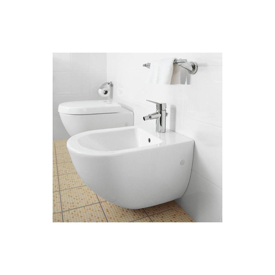 Villeroy & Boch Subway 2.0 miska WC wisząca bezrantowa, DirectFlush , 375 x 565 mm, Star White Ceramicplus - 466759_O4