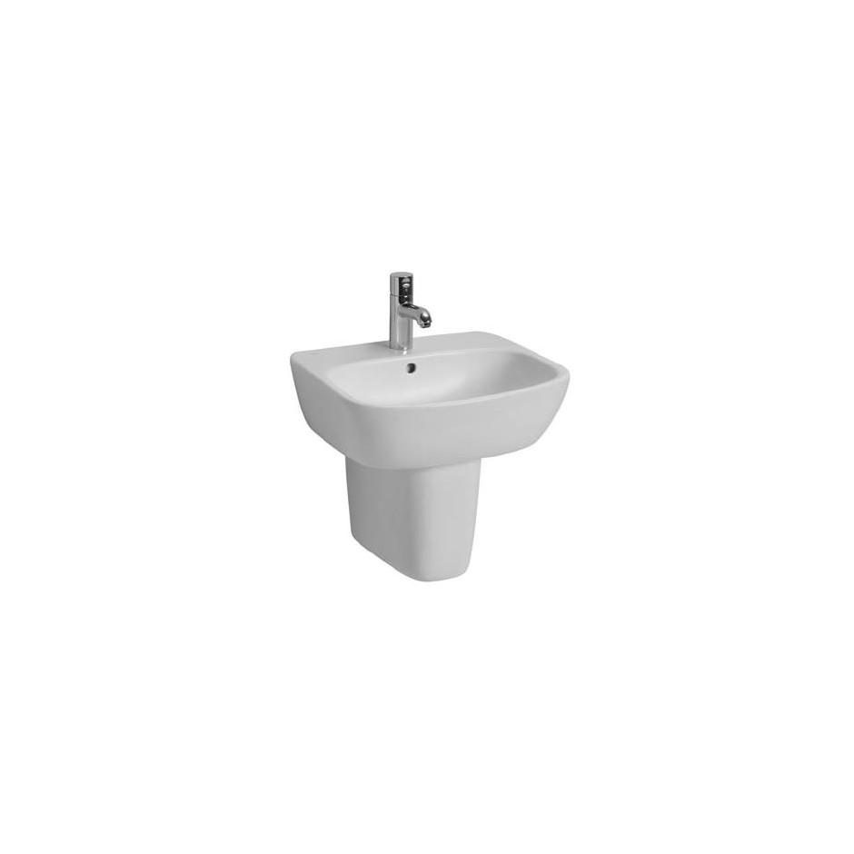 Koło Style umywalka 55cm z otworem biała Reflex