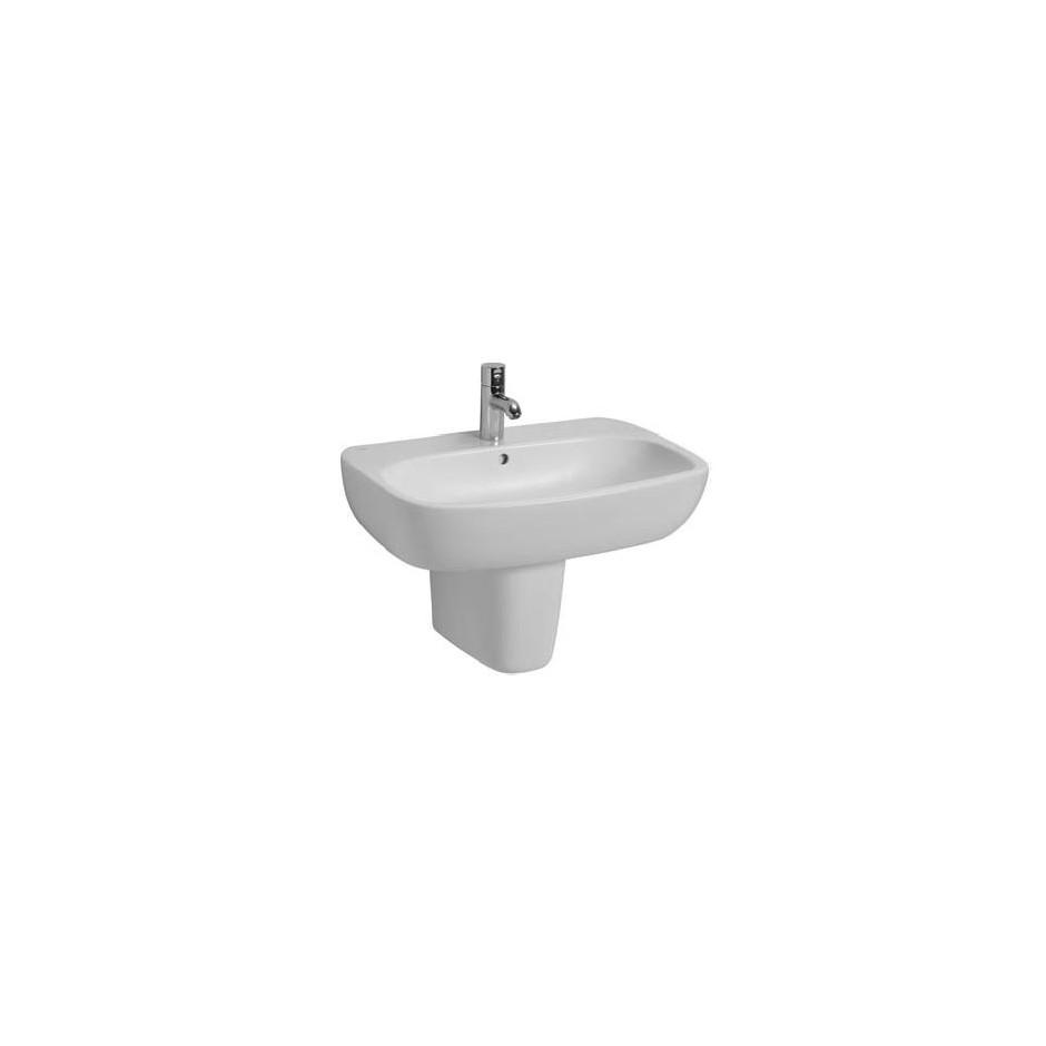 Koło Style umywalka wisząca 60 x46 cm z otworem biała Reflex