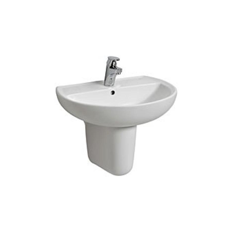 Koło Rekord umywalka 55cm bez otworu biała