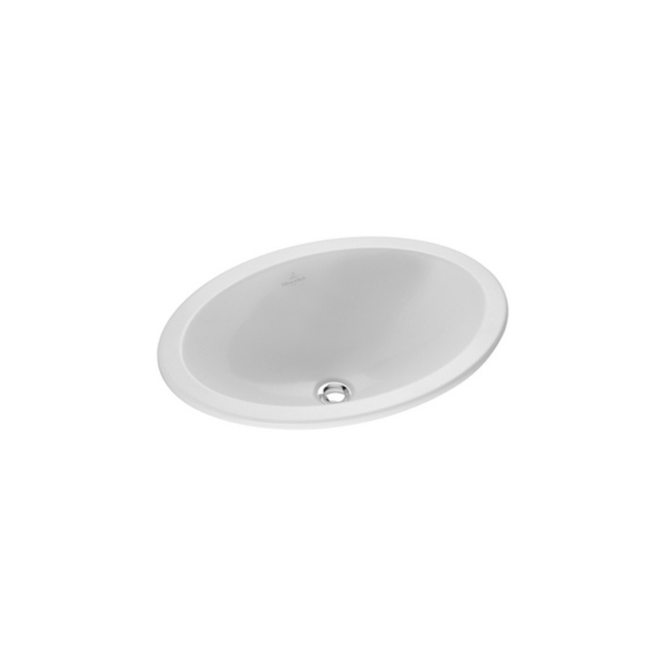 Villeroy & Boch Loop & Friends umywalka nablatowa, 500 x 355 mm, Star White Ceramicplus - 9104_O1