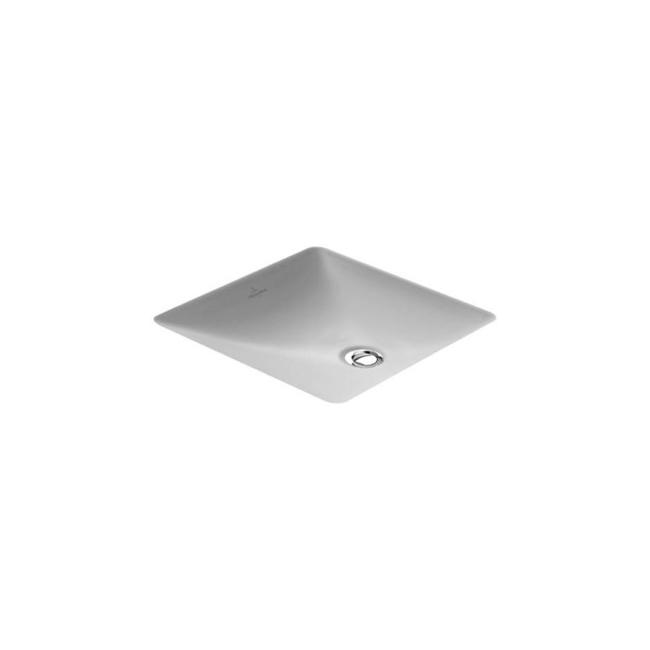 Villeroy & Boch Loop & Friends umywalka podblatowa, 380 x 380 mm, Weiss Alpin Ceramicplus - 9283_O1