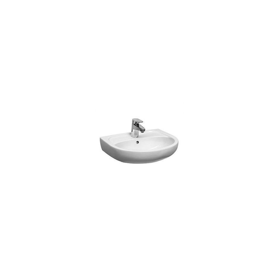 Koło Solo umywalka wisząca 40x33 cm bez otworu biała