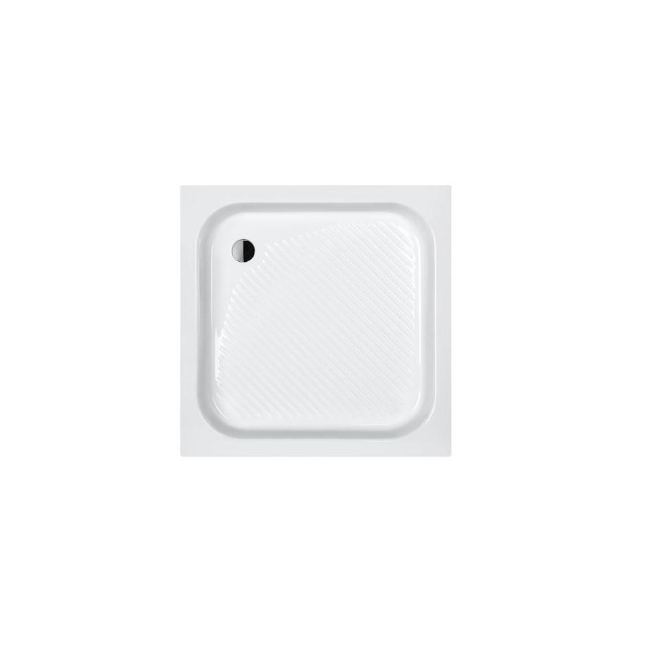 Sanplast Brodzik B/CL 90x90x15+STB biały