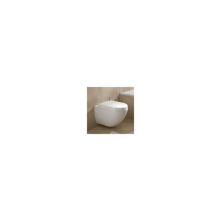 Villeroy & Boch Subway miska WC wisząca z pólka, 370 x 560 mm, Star White Ceramicplus - 12543_A1