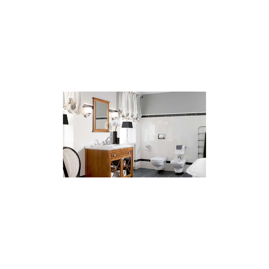 Villeroy & Boch Hommage miska WC wisząca, 370 x 600 mm, Star White Ceramicplus - 8757_O3
