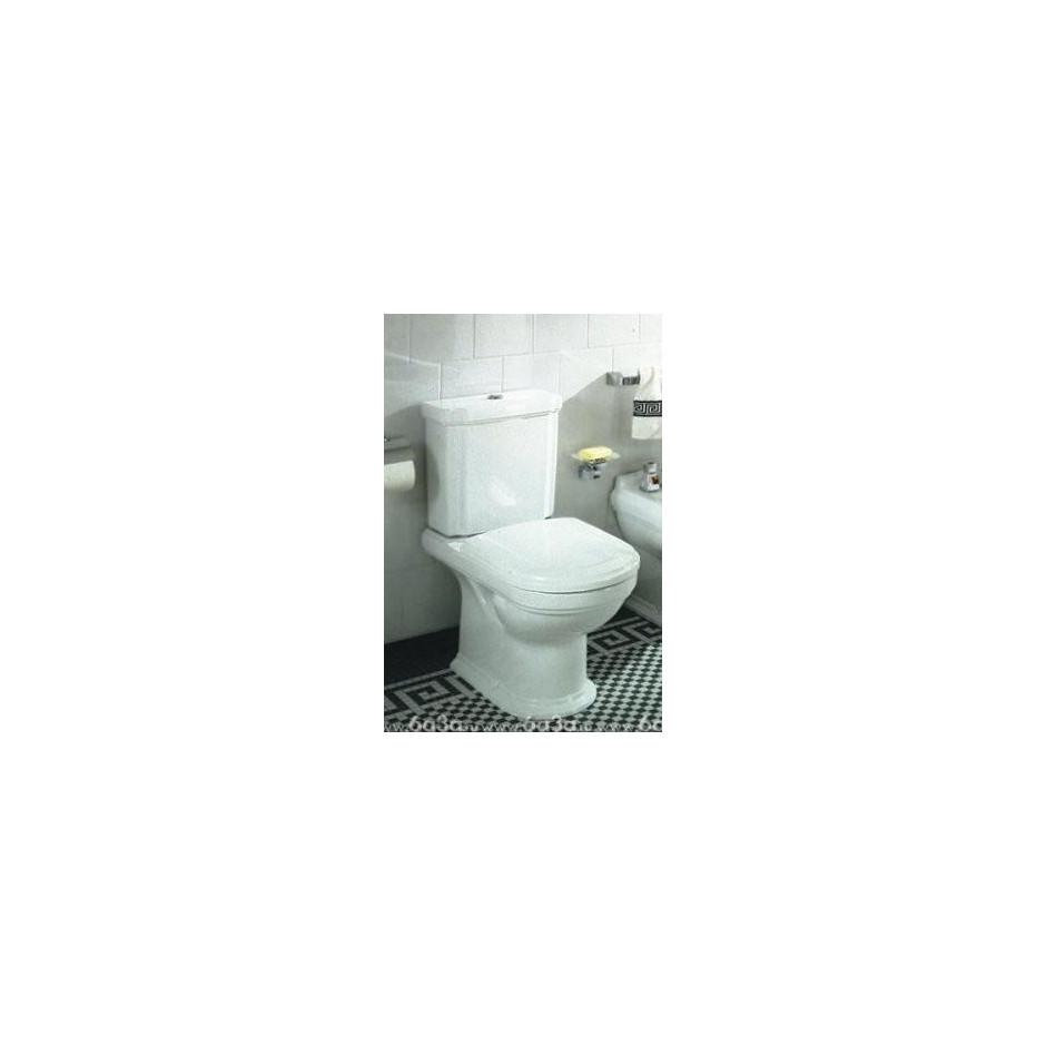 Villeroy & Boch Hommage miska lejowa do Wc-kompaktu, 370 x 725 mm, odplyw poziomy, Weiss Alpin Ceramicplus - 8764_O2