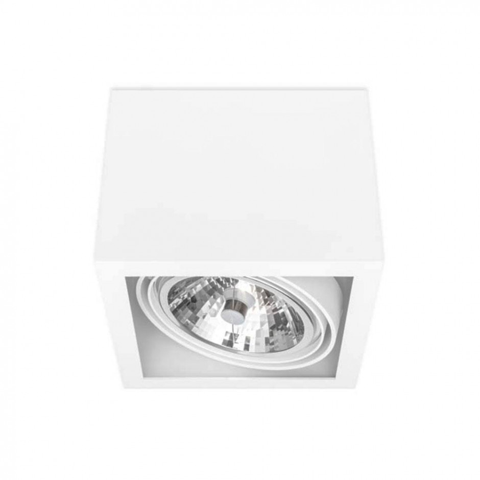 SternLight BASICSTERN SURFACE 1xG53, oprawa natynkowa, kolor biały
