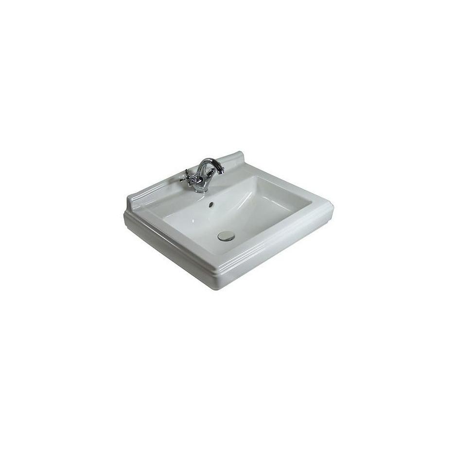 Villeroy & Boch Hommage umywalka 650 x 530 mm, Weiss Alpin Ceramicplus - 8695_O1