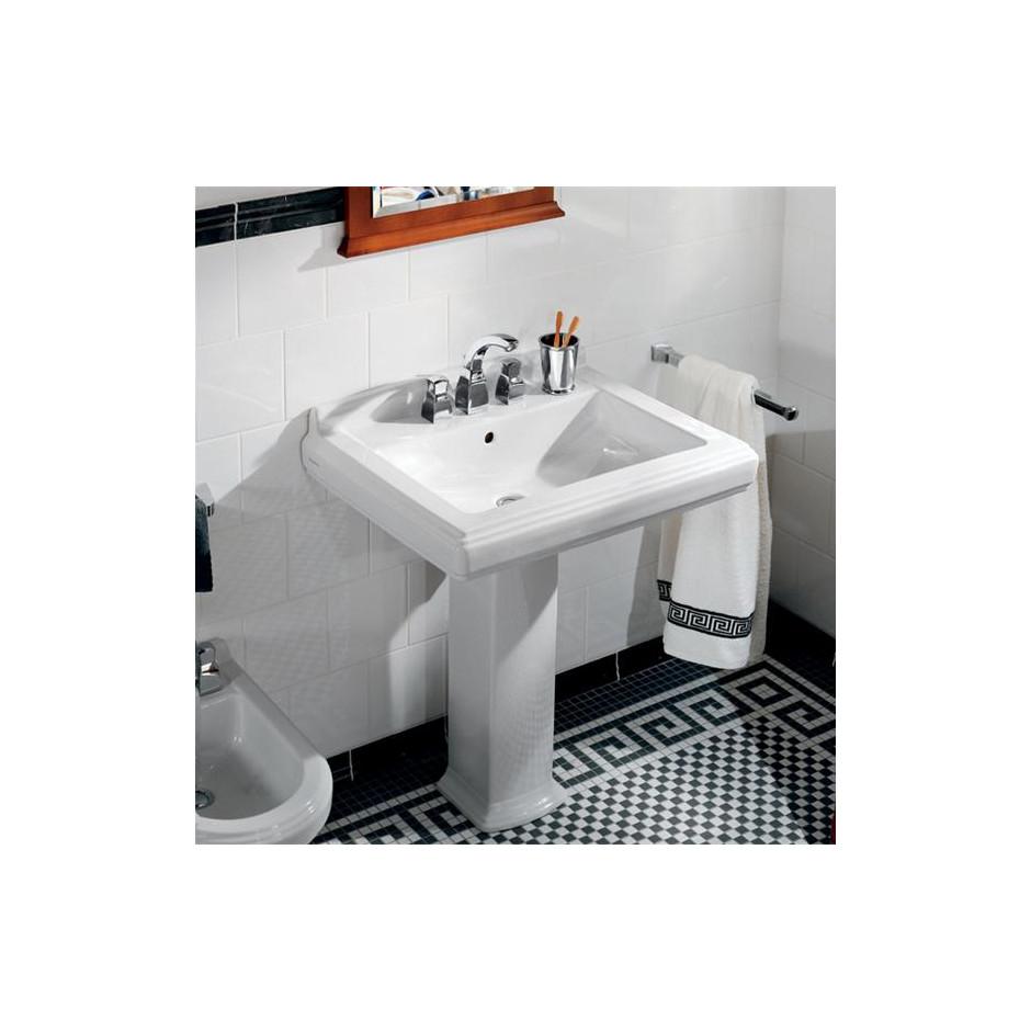 Villeroy & Boch Hommage umywalka 650 x 530 mm, Weiss Alpin Ceramicplus - 8695_O2