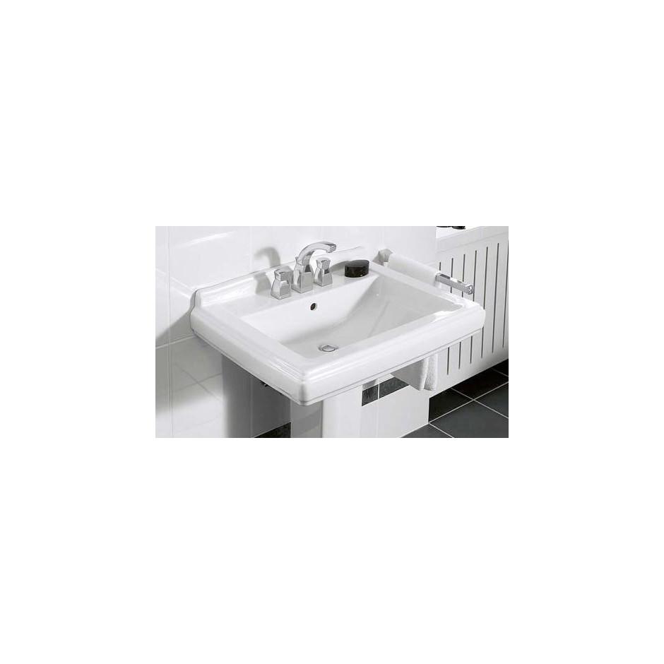 Villeroy & Boch Hommage umywalka 650 x 530 mm, Weiss Alpin Ceramicplus - 8695_O4