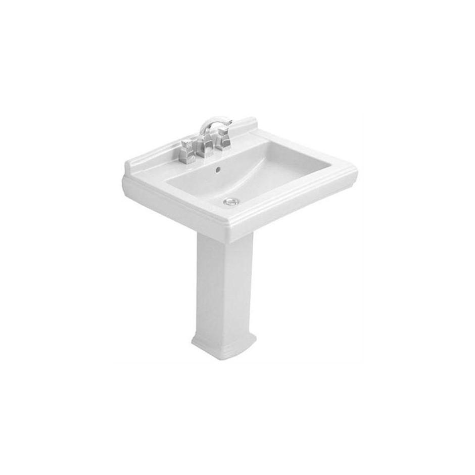 Villeroy & Boch Hommage umywalka 750 x 580 mm, Weiss Alpin Ceramicplus - 8690_O1