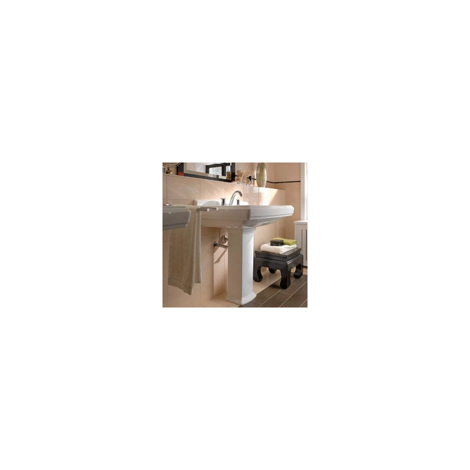 Villeroy & Boch Hommage umywalka 750 x 580 mm, Weiss Alpin Ceramicplus - 8690_O3