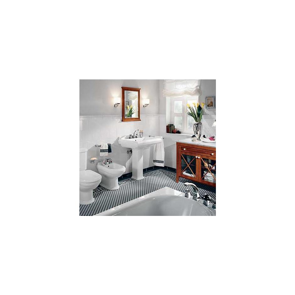 Villeroy & Boch Hommage umywalka 750 x 580 mm, Weiss Alpin Ceramicplus - 8690_T2