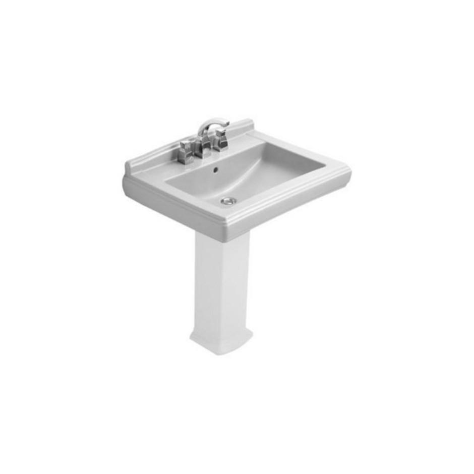 Villeroy & Boch Hommage umywalka 650 x 530 mm, Weiss Alpin Ceramicplus - 8700_O1
