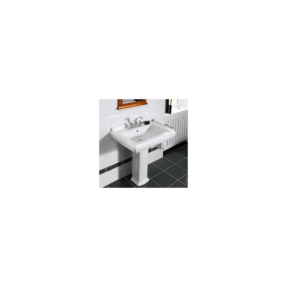 Villeroy & Boch Hommage umywalka 650 x 530 mm, Weiss Alpin Ceramicplus - 8700_O2