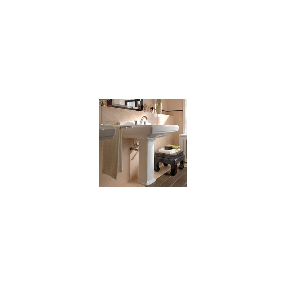 Villeroy & Boch Hommage umywalka 650 x 530 mm, Weiss Alpin Ceramicplus - 8700_O3