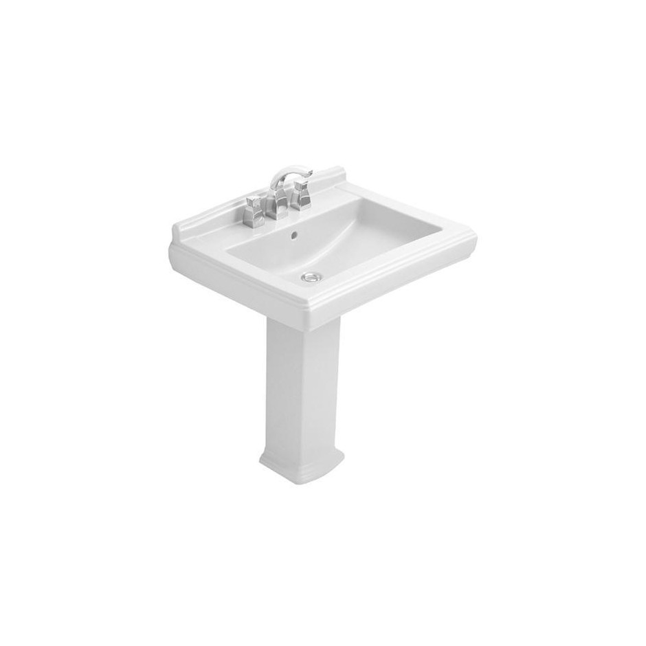 Villeroy & Boch Hommage umywalka 650 x 530 mm, Star White Ceramicplus - 8701_O1