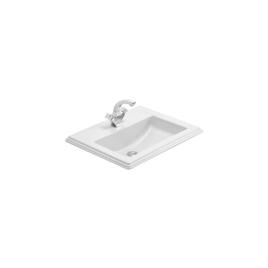 Villeroy & Boch Hommage umywalka nablatowa, 630 x 525 mm, Star White Ceramicplus - 8726_O1