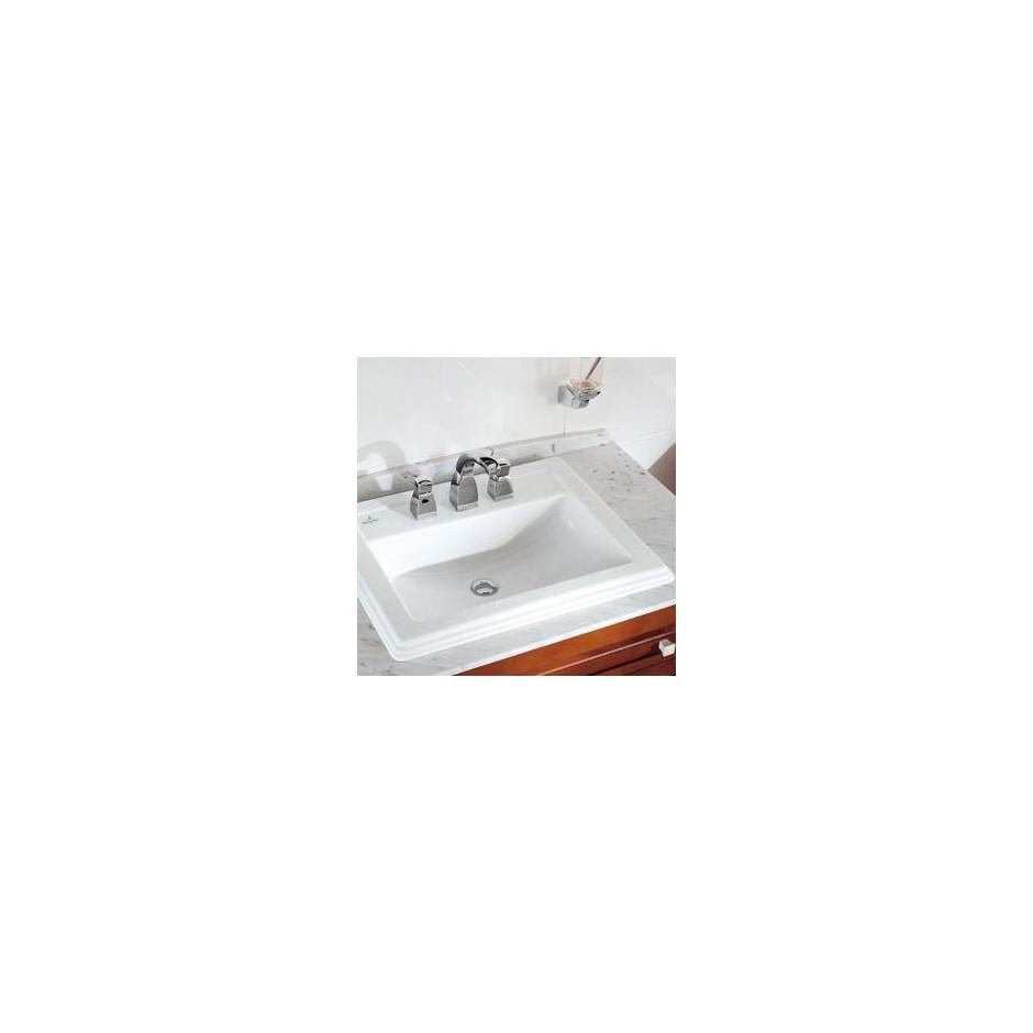 Villeroy & Boch Hommage umywalka nablatowa, 630 x 525 mm, Star White Ceramicplus - 8726_O2