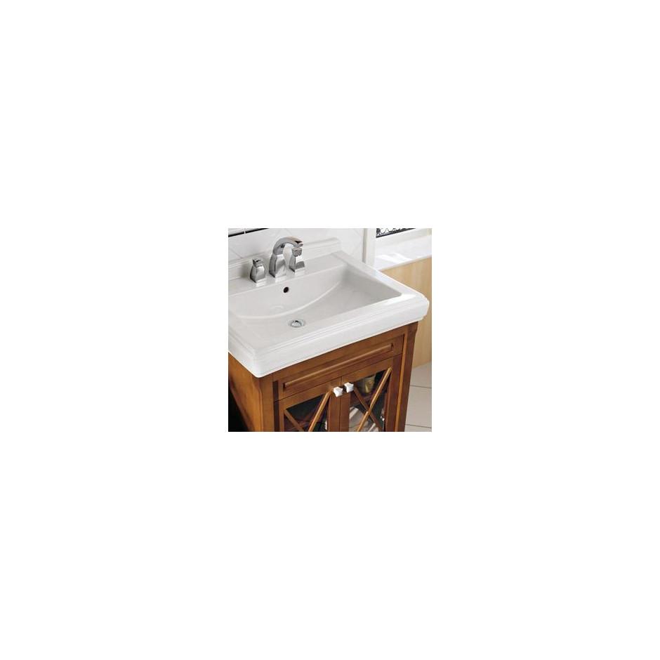 Villeroy & Boch Hommage umywalka nablatowa, 630 x 525 mm, Star White Ceramicplus - 8726_O3