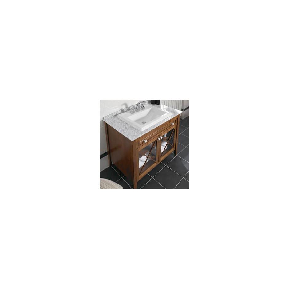 Villeroy & Boch Hommage umywalka nablatowa, 630 x 525 mm, Star White Ceramicplus - 8726_O4