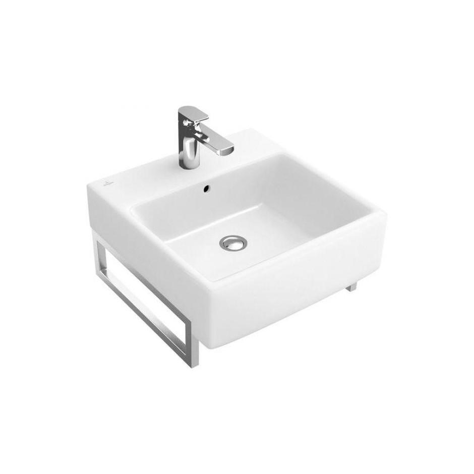 Villeroy & Boch Pure Basic Umywalka 50x50 Weiss Alpin - 11722_O1