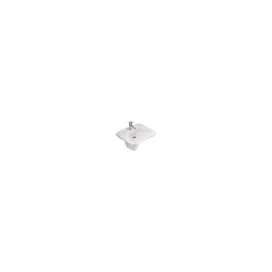 Villeroy & Boch O.Novo umywalka vita, 600 x 490 mm, Weiss Alpin Ceramicplus - 10729_O1