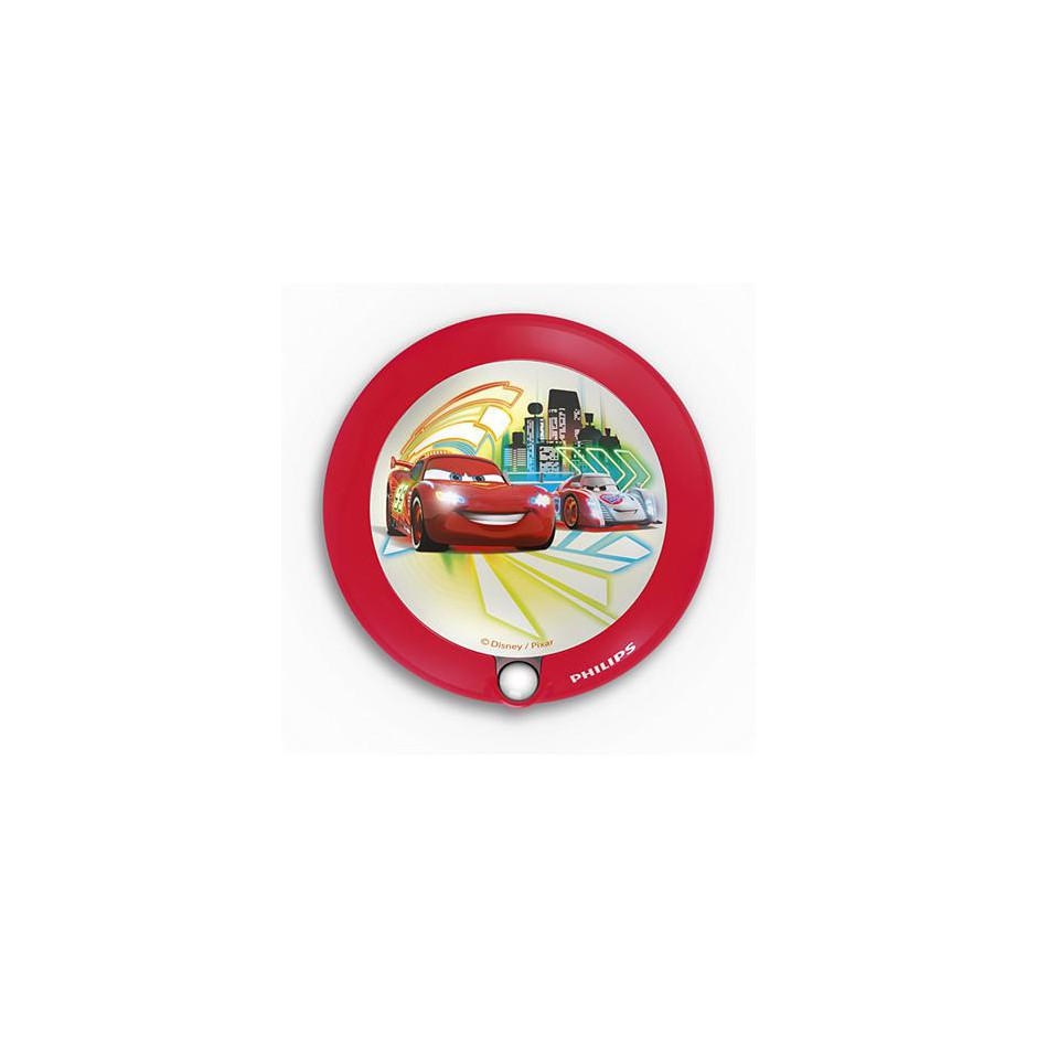 Philips Disney Cars lampka nocna wielokolorowa LED - 509135_O1