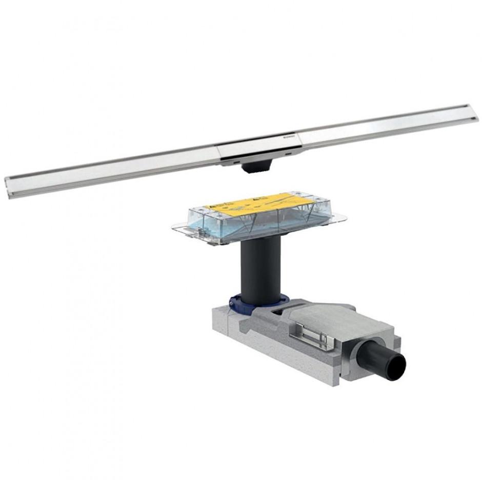 Geberit CleanLine kompletny odpływ liniowy 30 do 90 cm(154.152.00.1+ 154.450.KS.1)